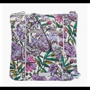 Vera Bradley Lavender Meadow Crossbody Bag Purse